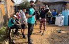 Voluntários da Missão Calebe constroem casa para família carente no RS
