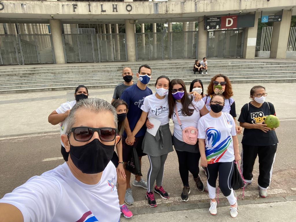 Feira estimula cuidados com a saúde no Maracanã