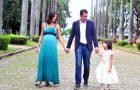 Casal relembra namoro de 9 anos a distância