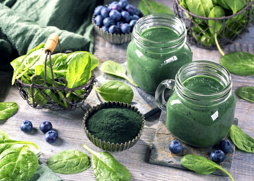 Sistema imunológico forte: smoothie verde