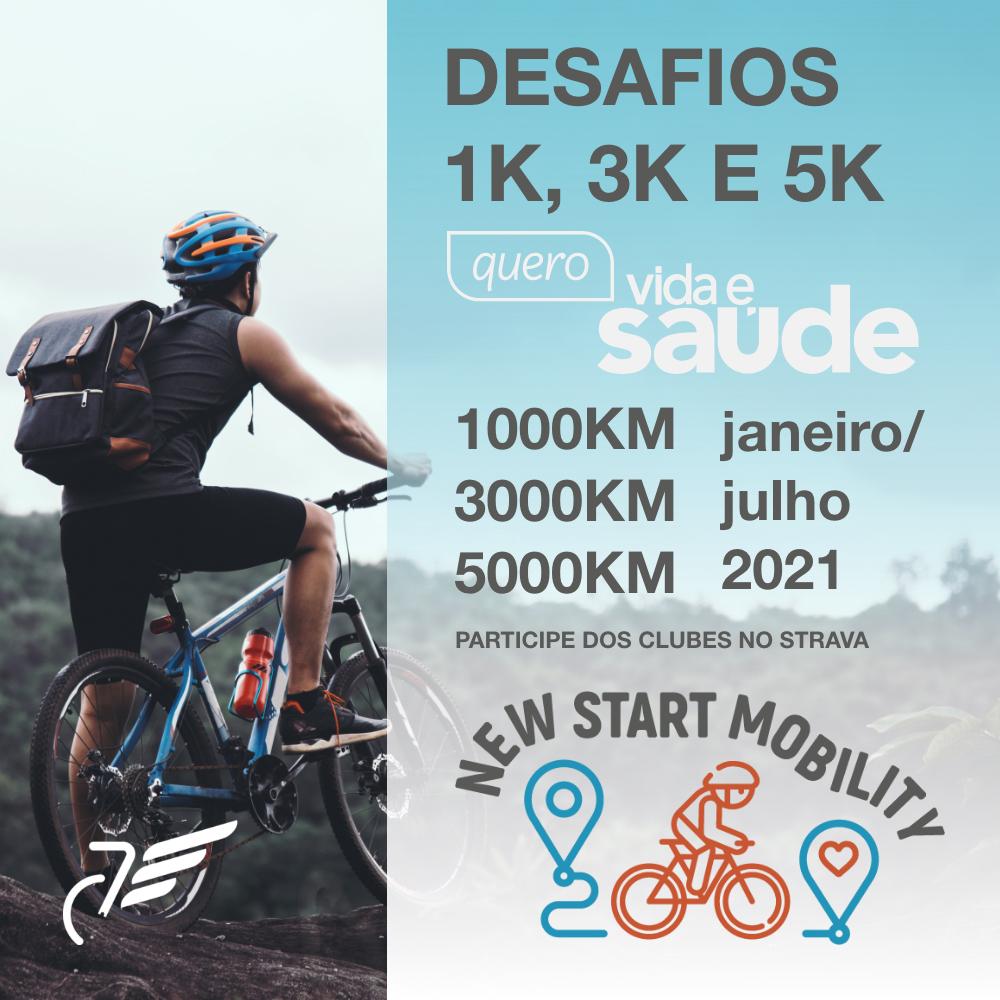 Desafio Pedal - Quero Vida & Saúde