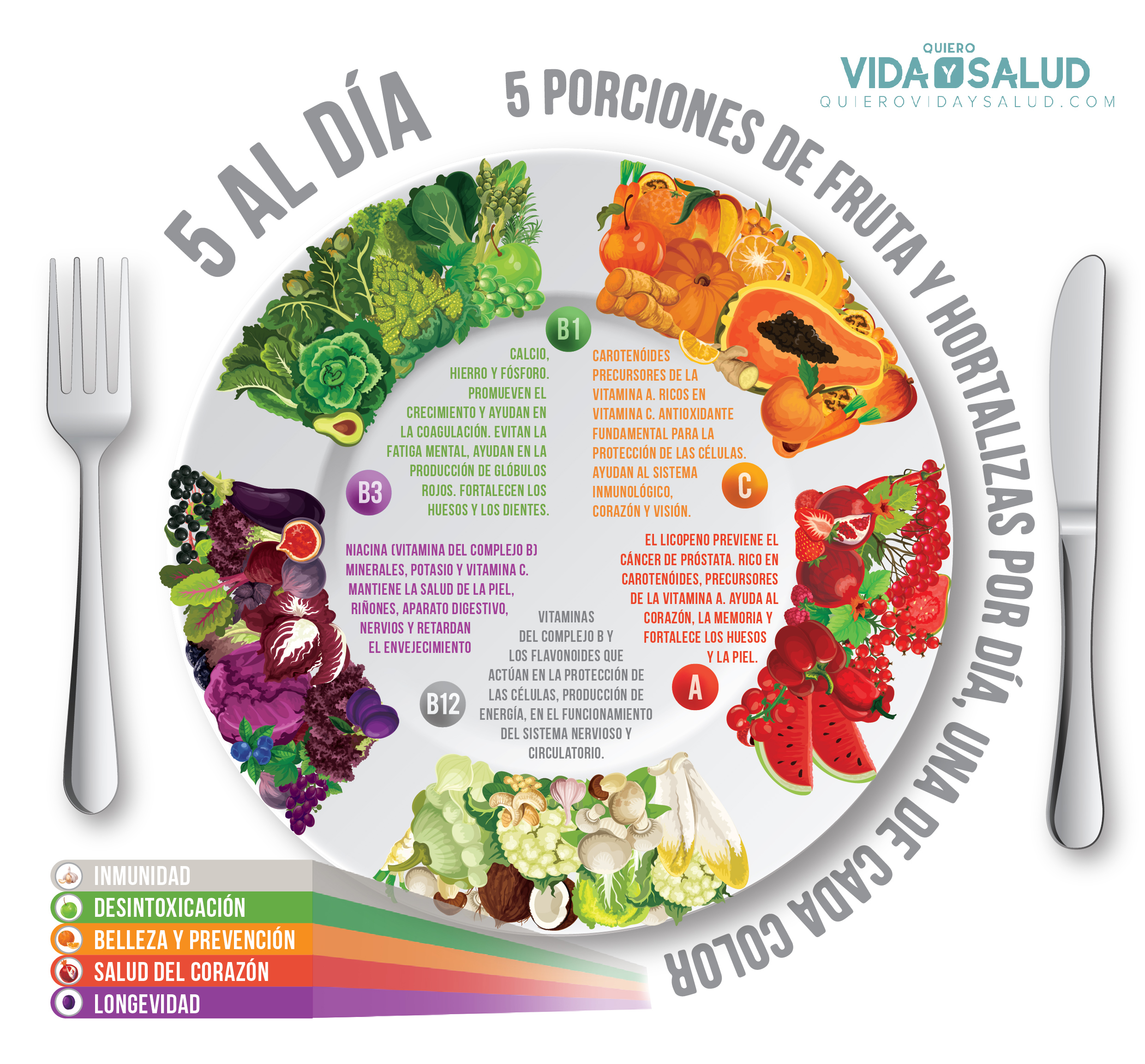 5 comidas al dia saludables