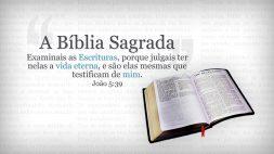 01. A Bíblia Sagrada