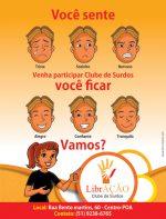 Centro de Vida Saudável lança clube de surdos