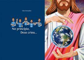 livro em libras - No princípio, Deus criou...