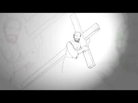 Viñeta #6 El Encuentro con Simon de Cirene – Semana Santa 2013 Iglesia Adventista