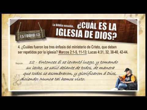#13 Cual es la iglesia de Dios: Guía de estudios – Llevando Esperanza