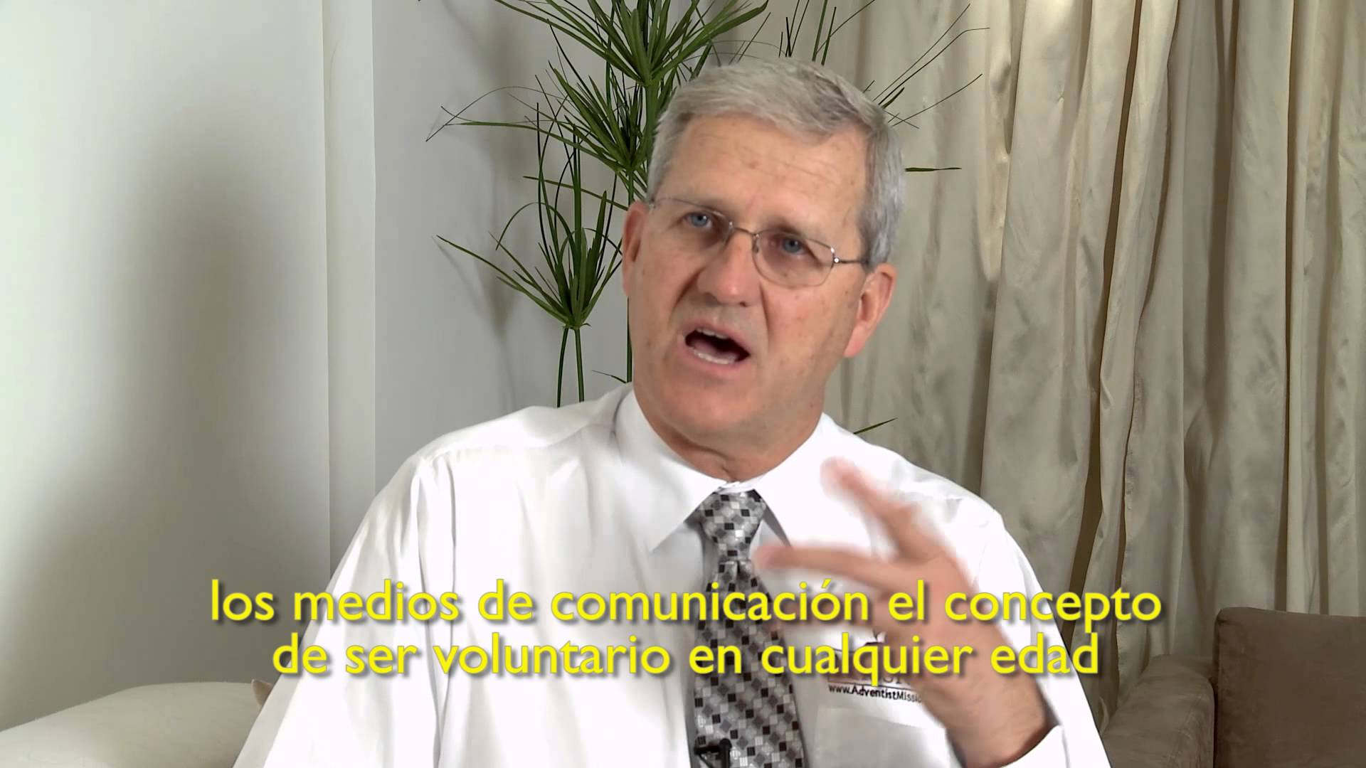 Pr. John Thomas – Servicio voluntario Adventista