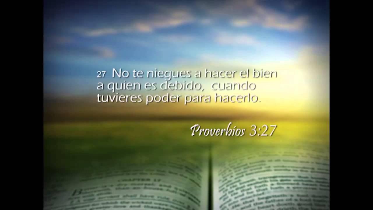 Proverbios 3 – Reavivados por su Palabra – 07/01/2014