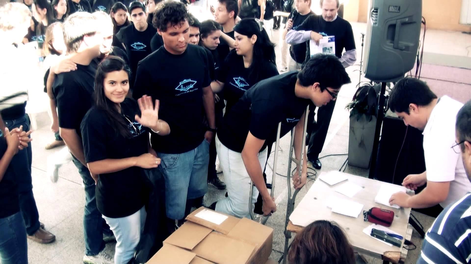 Colportar para salvar en Argentina
