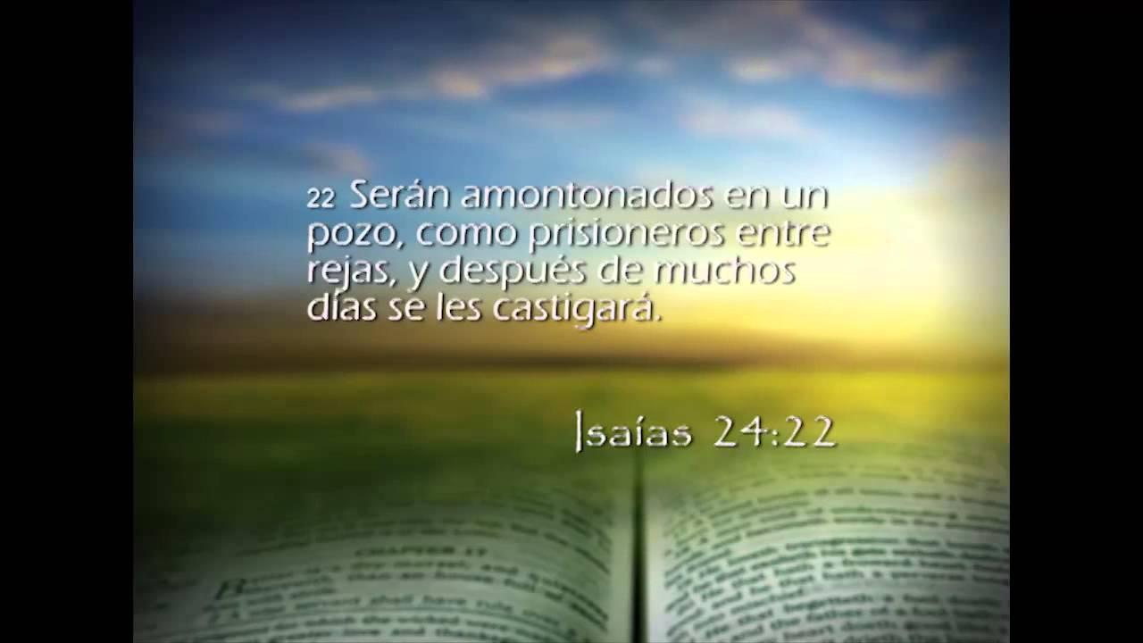 Isaías 24 – Reavivados por su Palabra – 20/03/2014 – Isaías 24