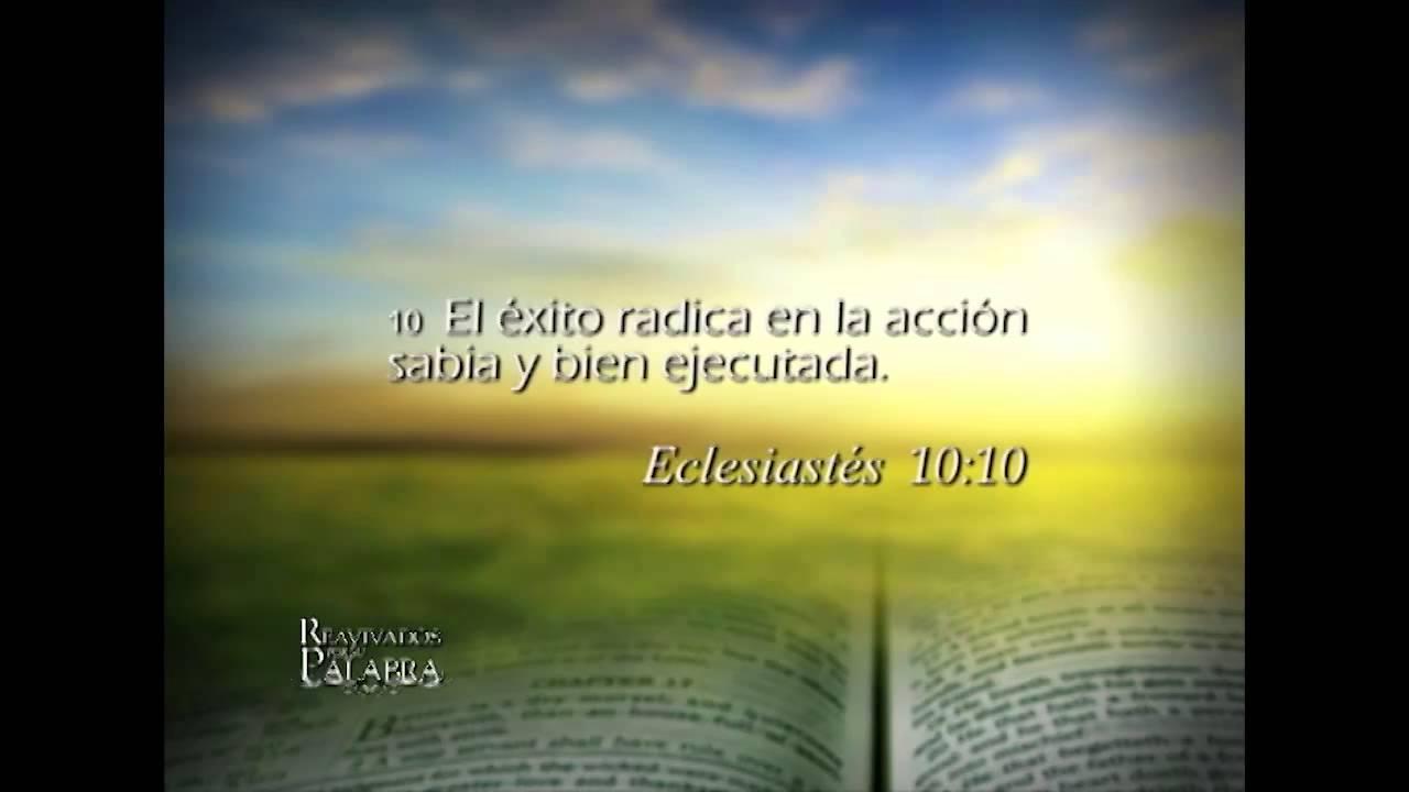 Eclesiastés 10 – Reavivados por su Palabra – 14/02/2014