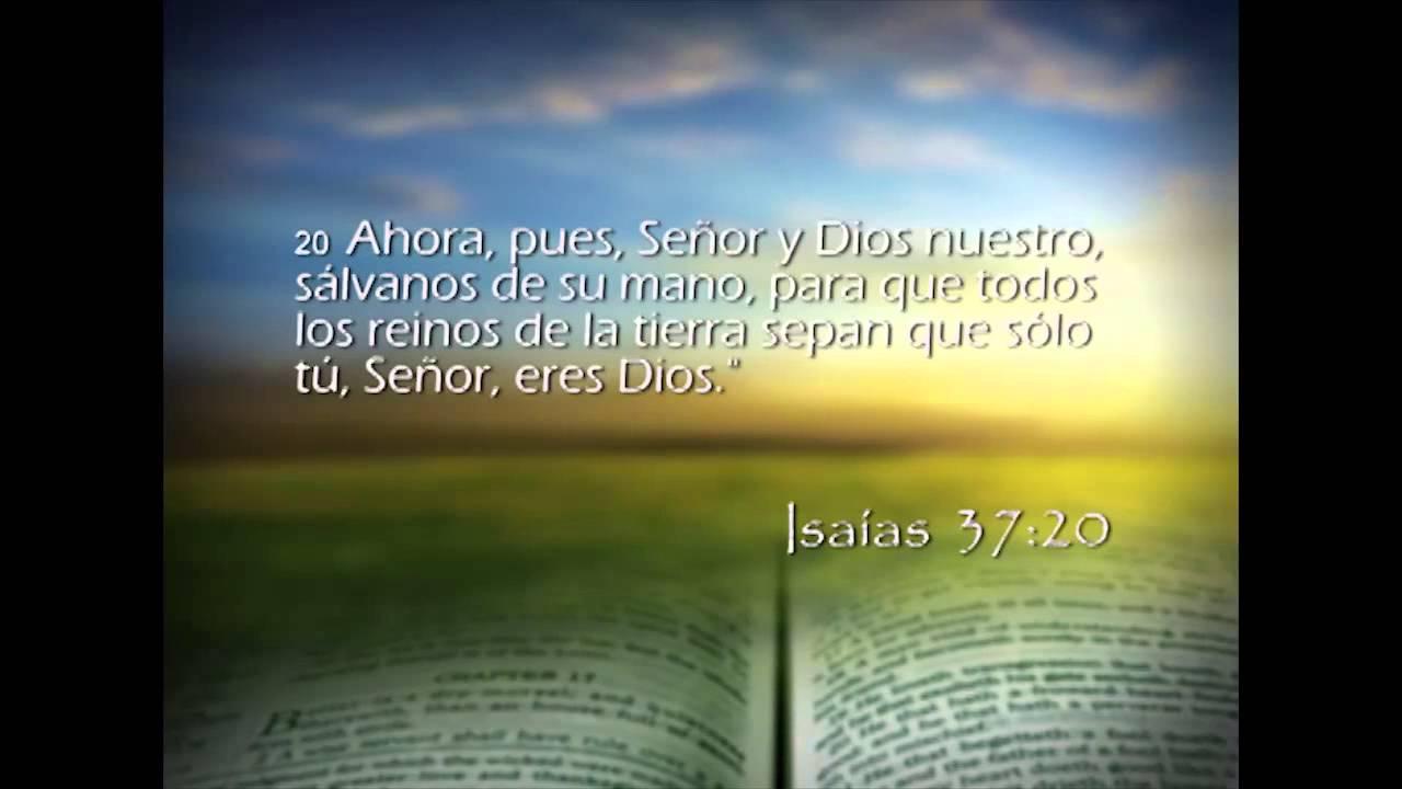Isaías 37 – Reavivados por su Palabra – 2/04/2014