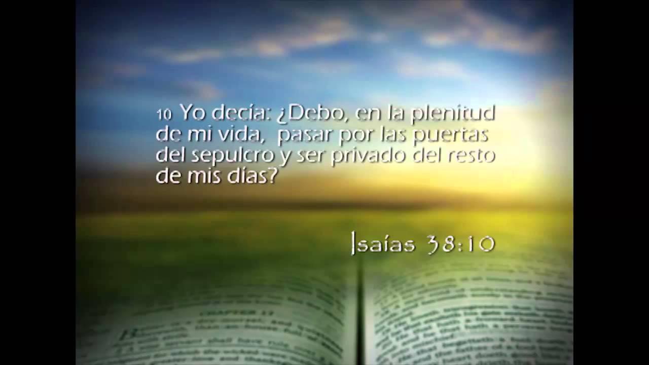 Isaías 38 – Reavivados por su Palabra – 3/04/2014