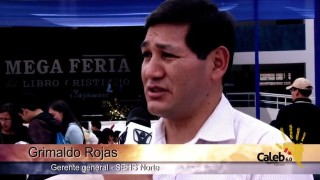 Mega Feria del Libro Cristiano, Misión Caleb 6.0 / Segundo Reporte