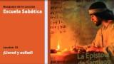 Lección 10 ¡Llorad y aullad! 4º Trim/2014 – Escuela Sabática