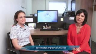Noticias Adventistas- Increíble testimonio y los beneficios de ser voluntario- Gretel Fontana