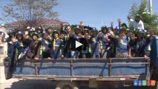 NotiUPSur – Reforestación y limpieza en Huancayo CalebUPSur
