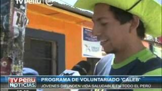 Tv Perú – Misión Caleb impacta en el Perú