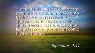 Romanos 4 – Reavivados por su Palabra #RPSP 02/03/2015