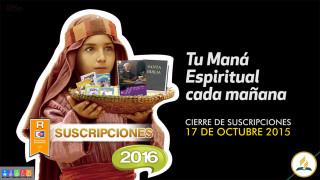 Plan Mana 2016 – Suscripción