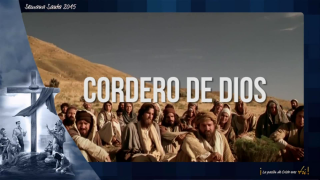 karaoke – Cordero de Dios  / Semana Santa 2015