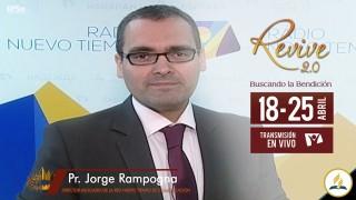 Invitación Revive 2.0 – Pr. Jorge Rampogna
