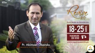 Invitación Revive 2.0 – Pr. Abimael Obando