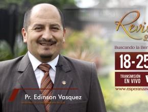 Invitación Revive 2.0 – Pr. Edinson Vasquez