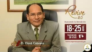 Invitación Revive 2.0 – Pr. Elard Cabrera