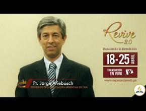 Invitación Revive 2.0 – Pr. Jorge Wiebusch