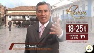 Invitación Revive 2.0 – Pr. José Chavéz
