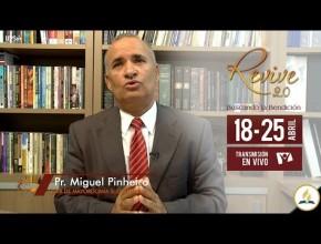 Invitación Revive 2.0 – Pr. Miguel Pinheiro