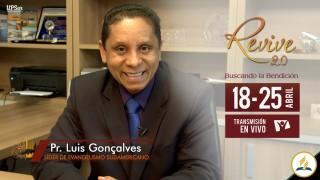 Invitación Revive 2.0 – Pr. Luis Gonçalves
