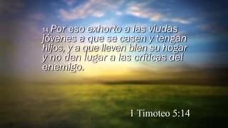 1 Timoteo 5 – Reavivados por su Palabra #RPSP