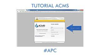 ACMS – Tutorial