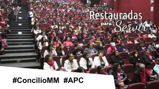 Concilio MM Restauradas para Servir #APC