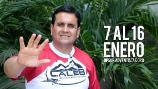 Invitación Pr. Enzo Chávez Misión Caleb