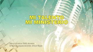 Karaoke mi talento mi ministerio – oficial