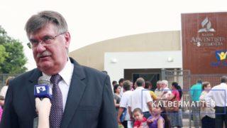 Inauguración Iglesias – Informe