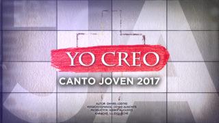 Canto Joven 2017 – Yo Creo