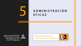 ADMINISTRACIÓN EFICAZ | Maestros de ES | Tema 5