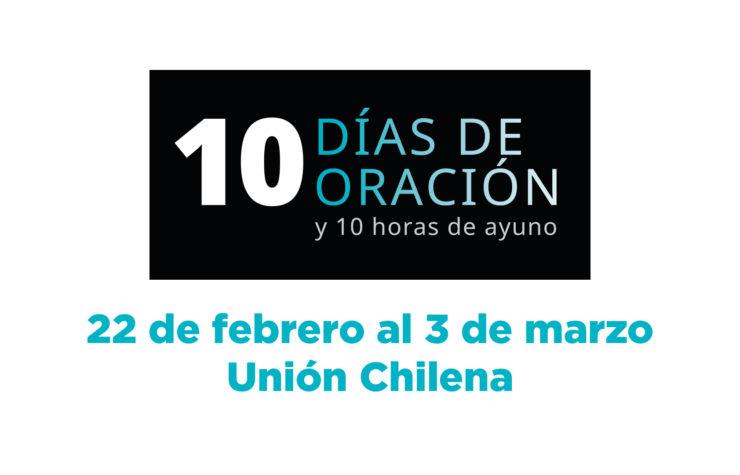 Promocional 10 Días de Oración Unión Chilena