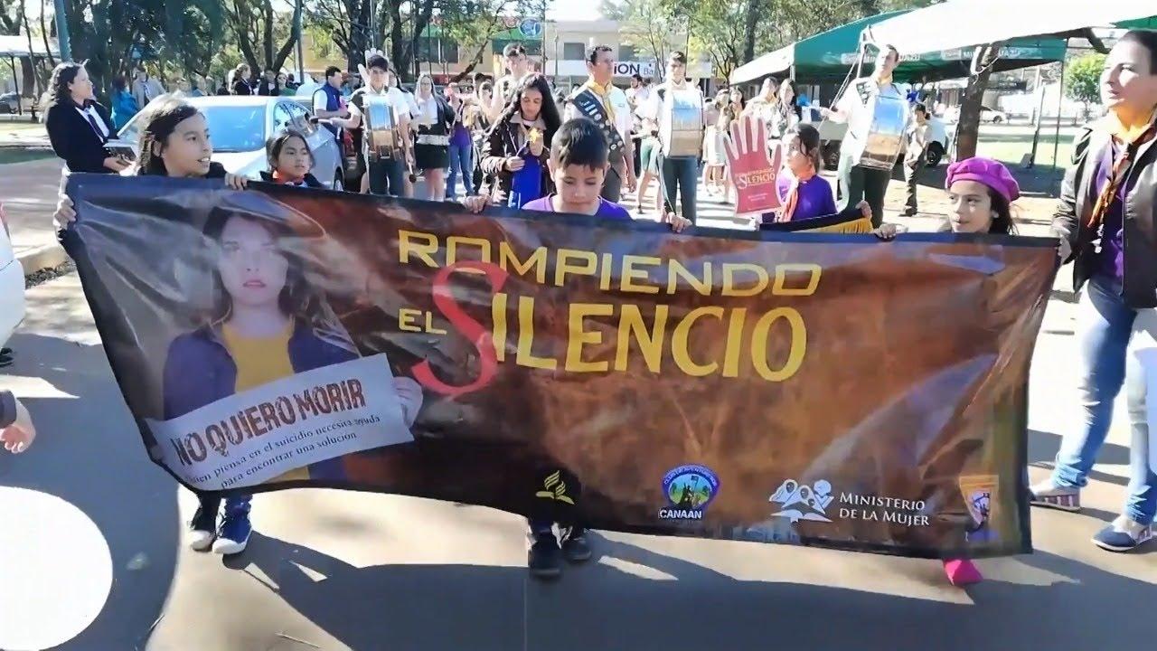 Campaña Rompiendo El Silencio 2018 fue de bendición en Paraguay