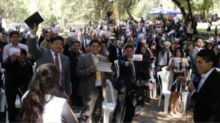 10 Días de Oración y 10 Horas de Ayuno en Bolivia