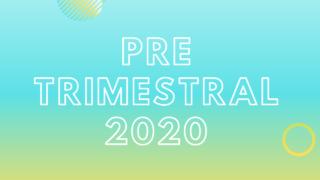Playlist: 1 º Pre – Trimestral 2020