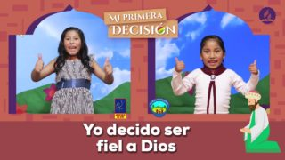 """Canto Tema """"YO DECIDO"""" Día del Aventurero y Niño Adventista 2020"""