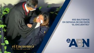 Bolivia: Cerca de 650 personas fueron bautizadas en la semana El Encuentro