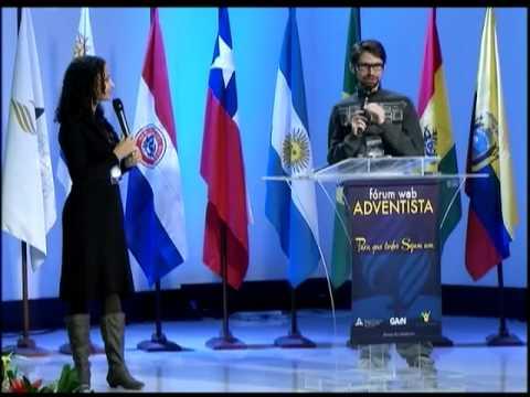 Dons e Tecnologia no Cumprimento da Missão – Marcos e Karyne Correa, Fórum Web Adventista