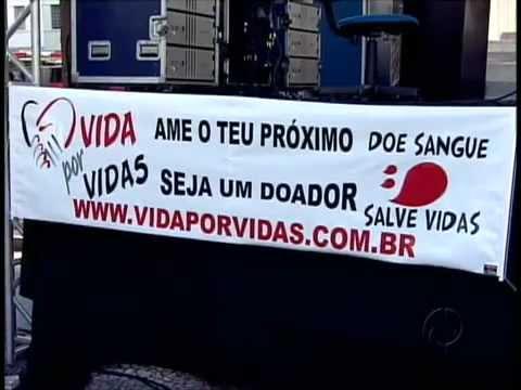 Reportagem da TV Paraná (Rede Globo) sobre o Vida Por Vidas